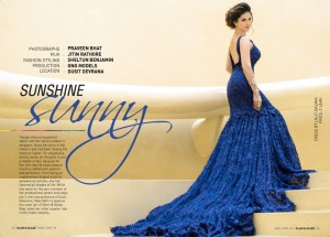 Editorial Shoot with Sunny Leone