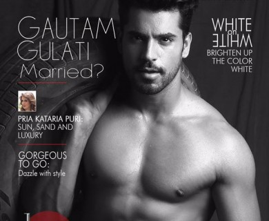 GnG Magazine Cover shoot with Gautam Gulati