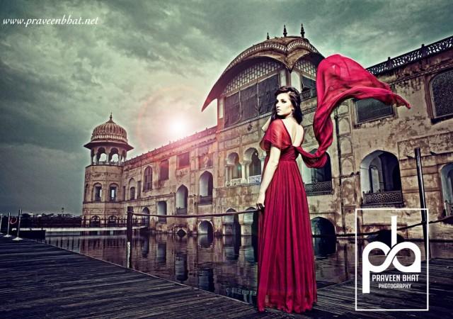 Shoot with designer Janhavi Gupta.