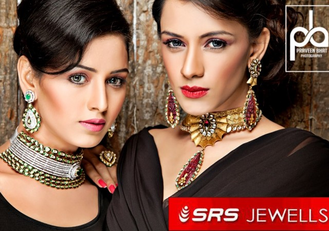 Advertising shoot for SRS jewelry brand.
