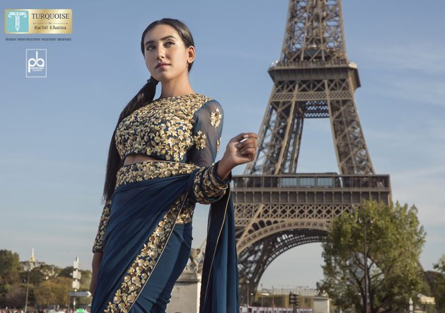 Designer Shoot for Turquoise by Rachit Khanna in Paris