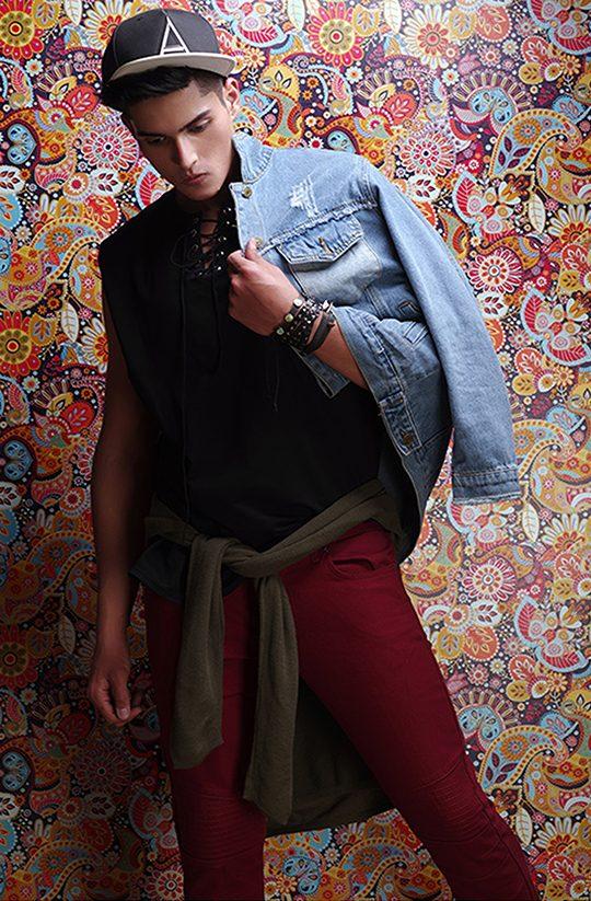 best male modeling photoshoot