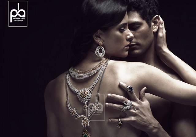 Advertising shoot for SLG Jewellers