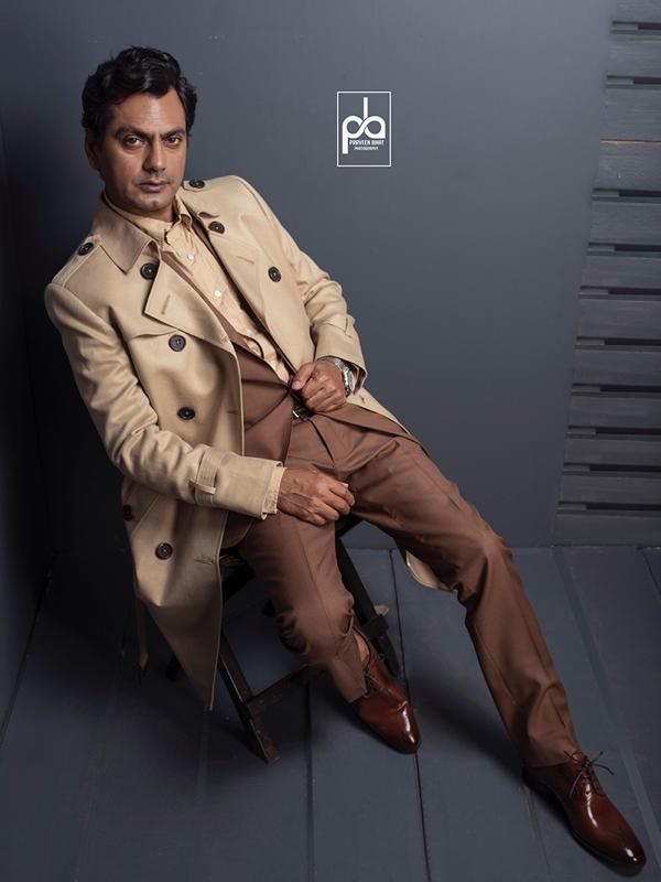 Nawazuddin Siddiqui Editorial Shoot with Praveen Bhat