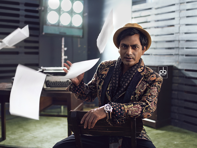 Nawazuddin Siddiqui Editorial Shoot with Praveen Bhat