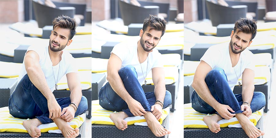 karan tacker with best fashion photographer