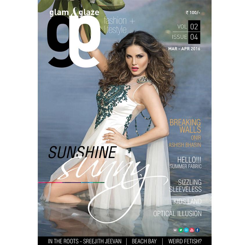 Sunny Leone Cover shoot
