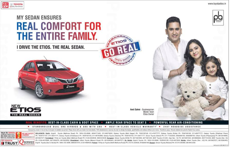 Advertising Shoot with Toyota