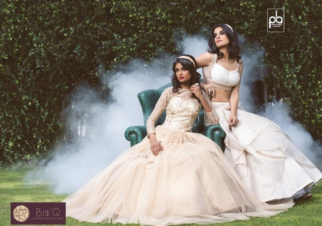 Shoot for Indian fashion designer Bisq Jaya
