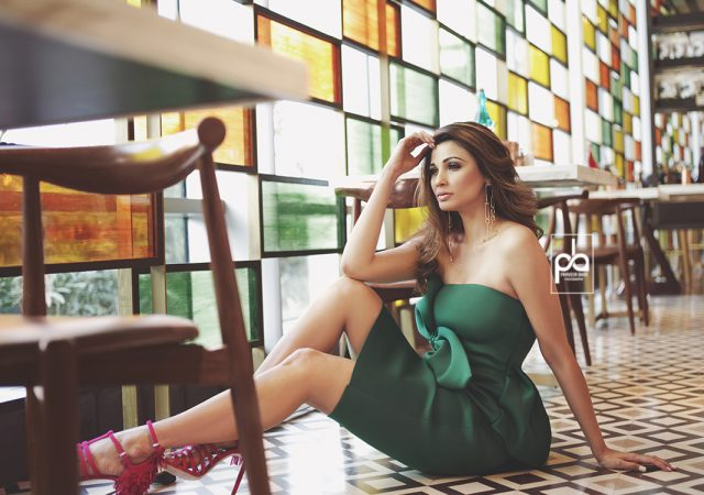 Indian Celebrity Photographer Praveen Bhat shoots with Bollywood Actor Daisy Shah