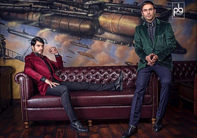 Men's wear editorial shoot in Delhi
