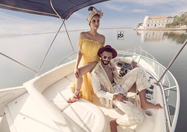 Designer Photoshoot with Mr. India 2018 Prathamesh Maulingkar & Actress Sakshi Malik