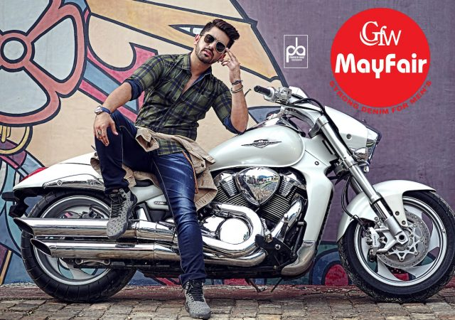 Denim Ad Campaign for Mayfair with Actor Zain Imam
