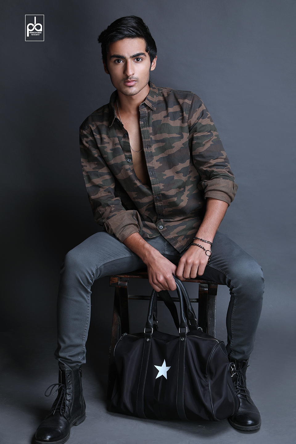 Modelling portfolio shoot for Priyanshu -