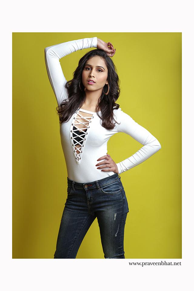 female modelling portfolio shoot