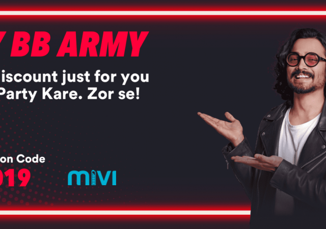 MIVI ad campaign with Bhuvan Bam by Top Fashion Photographer Praveen Bhat
