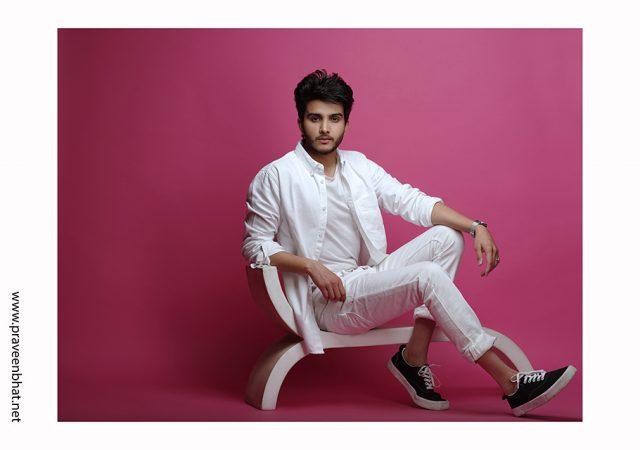 Male modelling portfolio for Abhimanyu