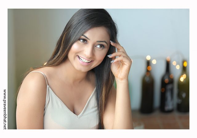Female modelling portfolio shoot for Riya