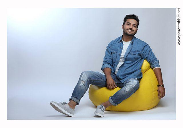 Male model portfolio shoot for model Sonish