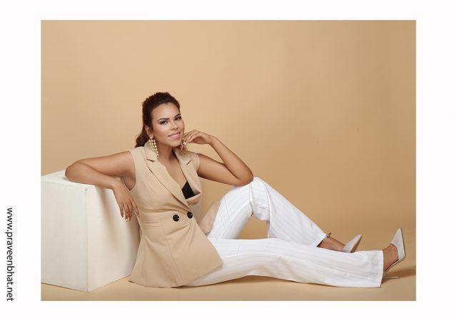 Female Modelling portfolio shoot for Simran
