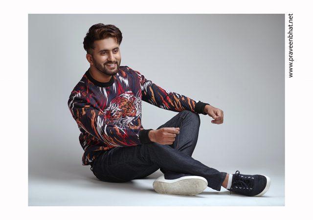 Male modelling portfolio shoot for Utkarsh