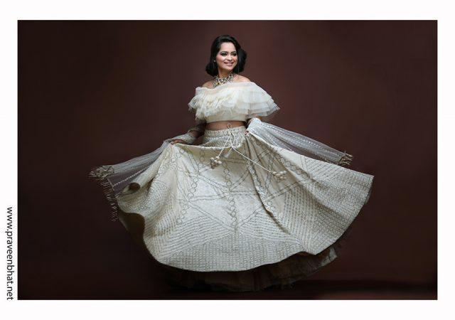 Female modelling portfolio shoot for model Tarika Kashyap