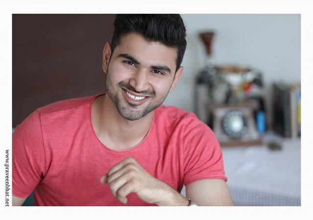 Modelling portfolio shoot in Delhi with for Pranav