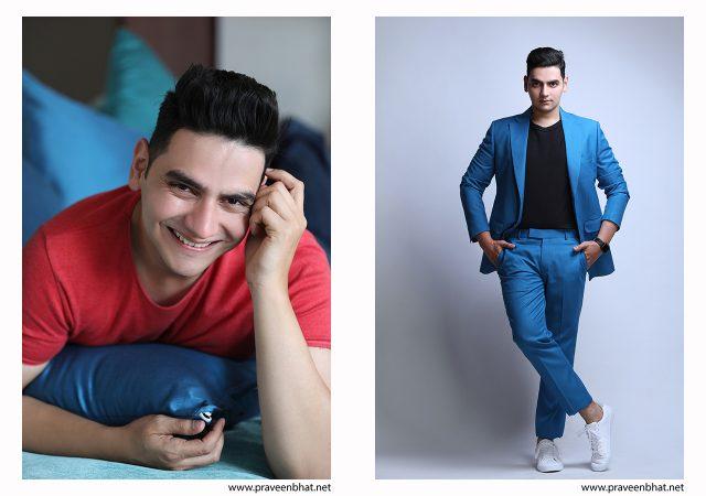 Modelling portfolio shoot for Pravesh Rao by Praveen Bhat