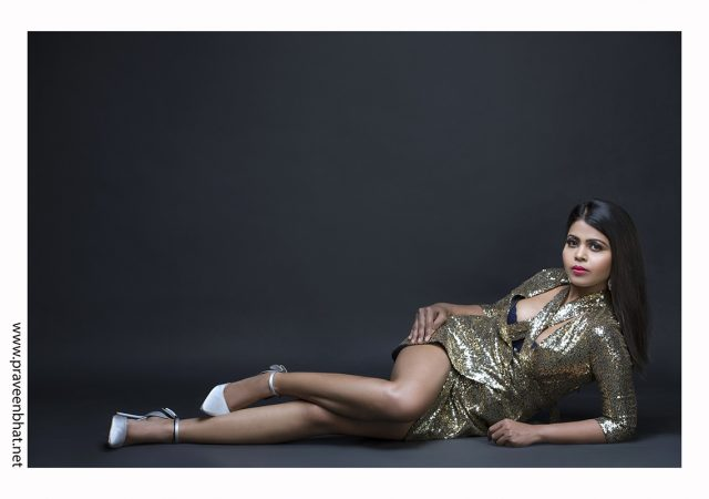 Modelling portfolio shoot for Deepika Singh by Praveen Bhat