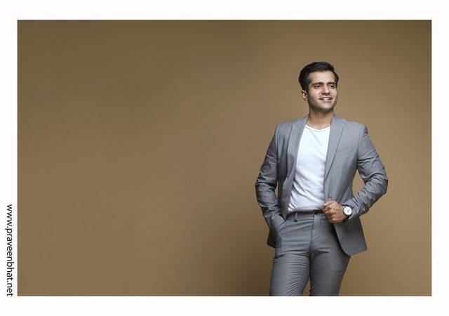 Male Modelling portfolio shoot for Aman Sehgal