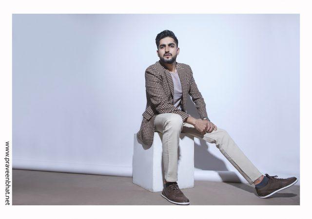 Male model portfolio photography for Vikram Aditya