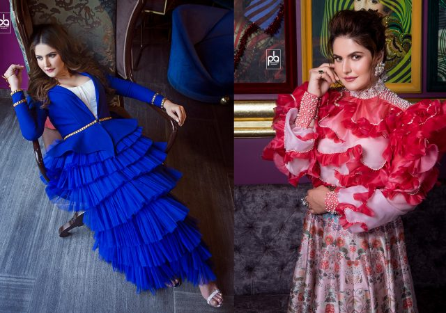 Editorial Shoot with Bollywood Star Zareen Khan for GNG Magazine