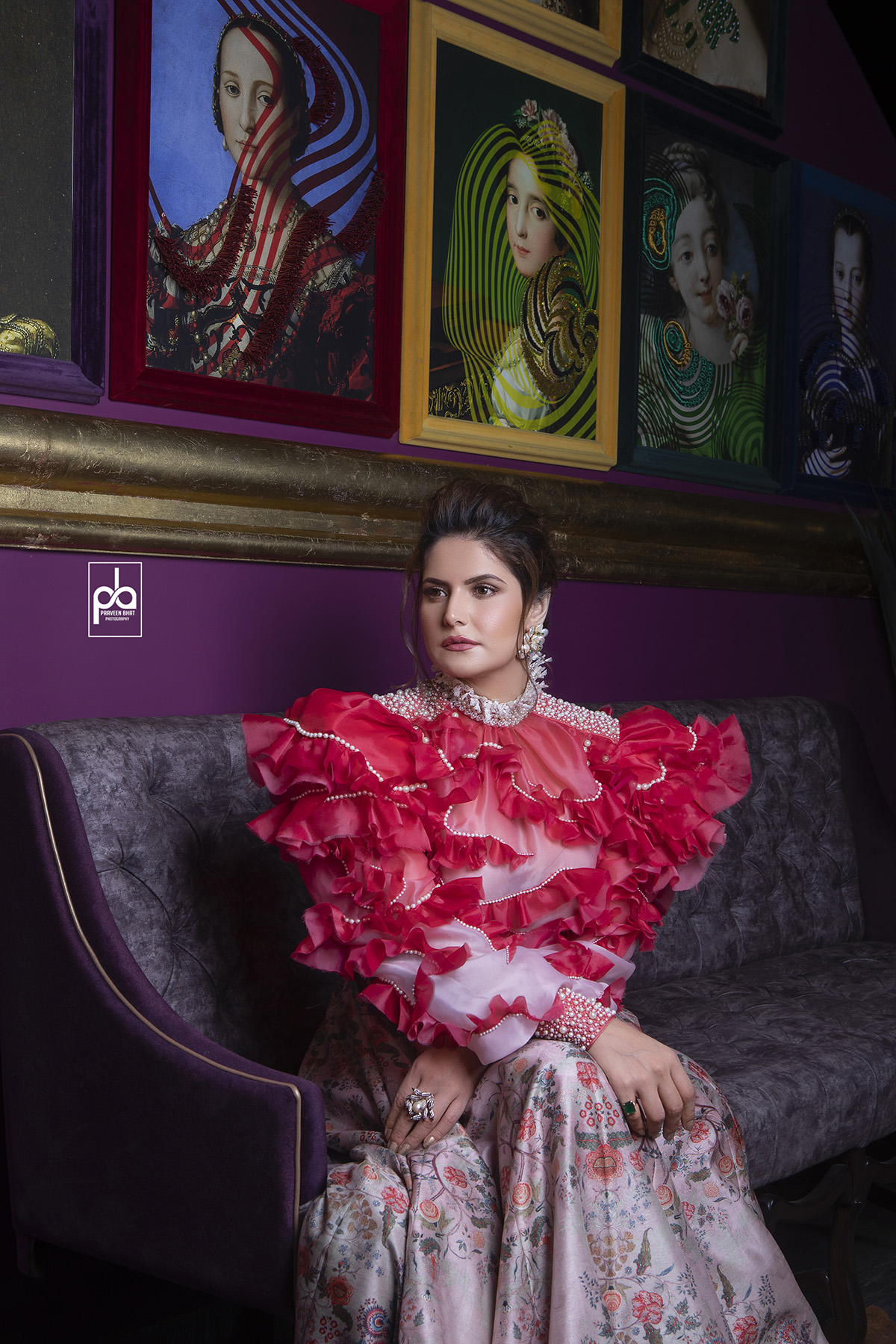 Fashion Photographer clicks Zareen Khan 2019
