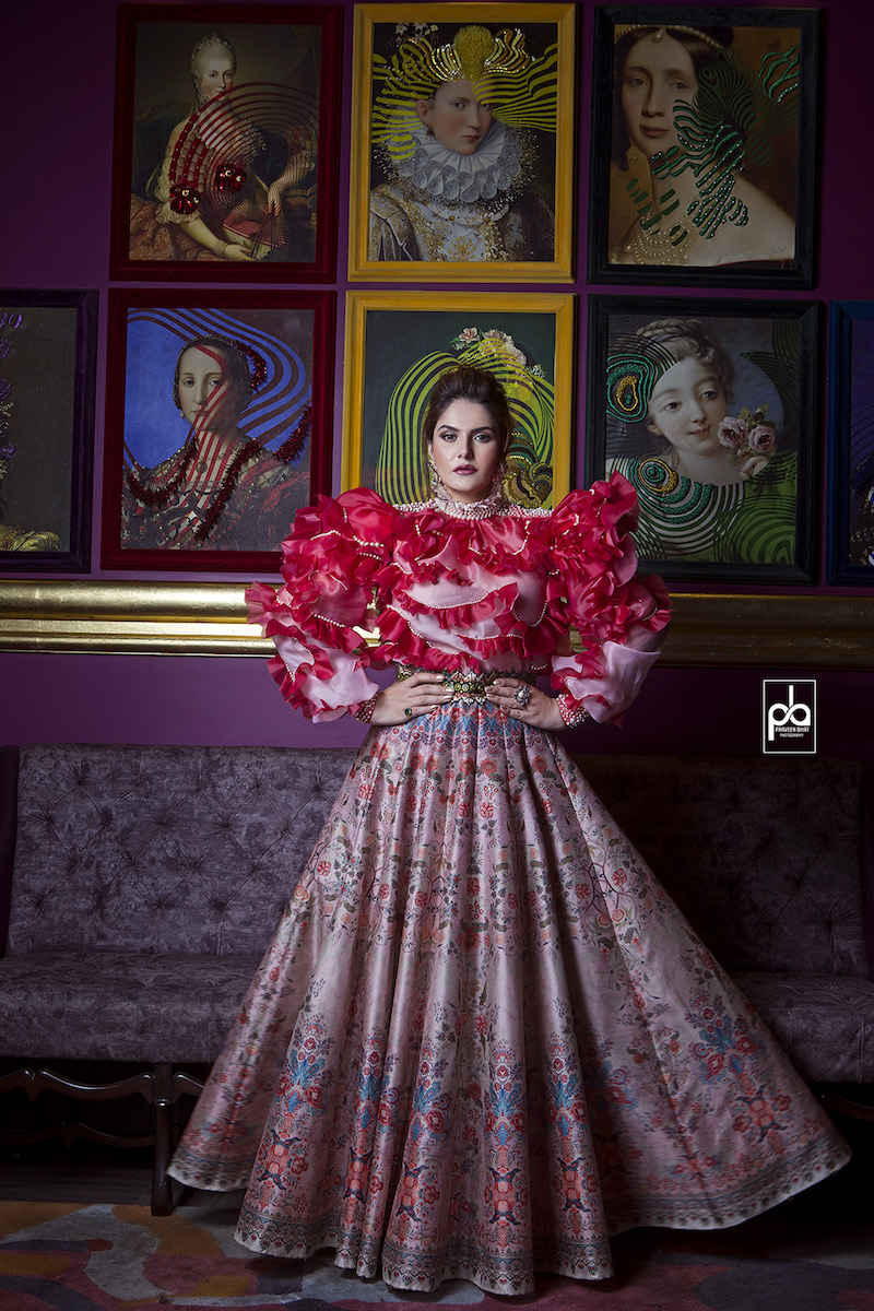 Fashion Photographer shoots with Zareen Khan