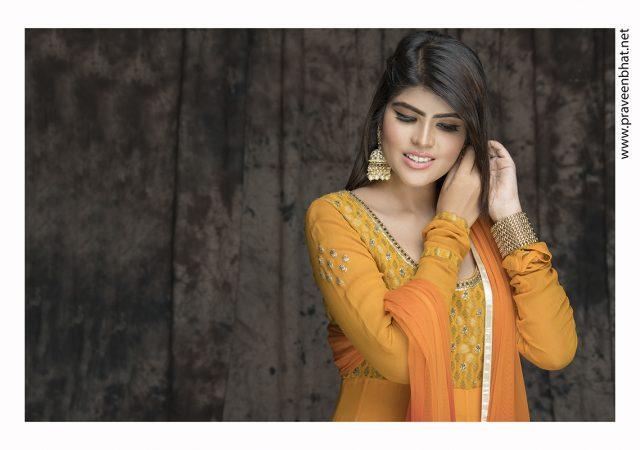 Female portfolio photography for model Shubhangi