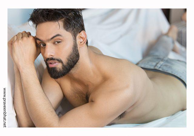 Modelling portfolio shoot in Delhi for model Kapil