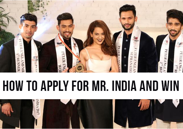 How to win Mr India