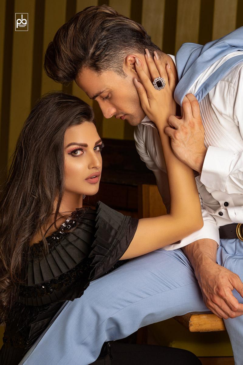 Asim Riaz kiss Himanshi khurana
