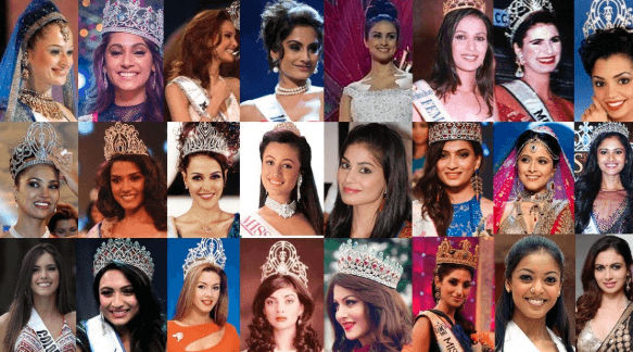 Miss India Winners from 1964 to 2019