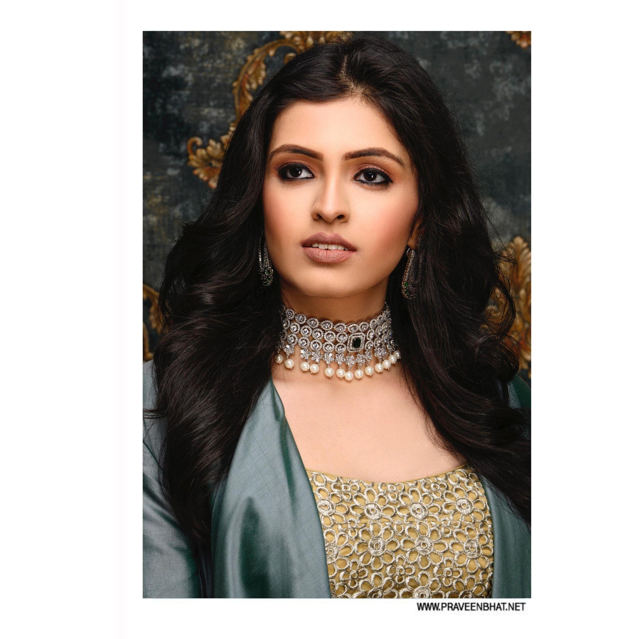 indian model jewelery portfolio