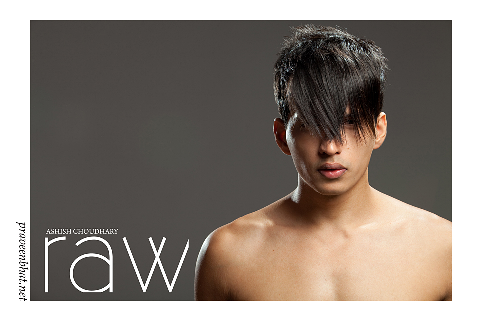 male model poses by indian photographer