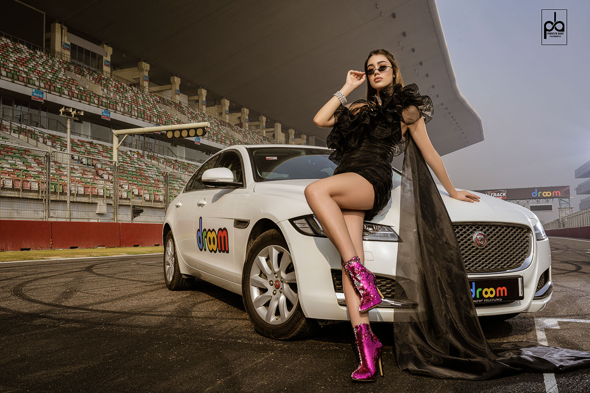 model photography calendar shoot