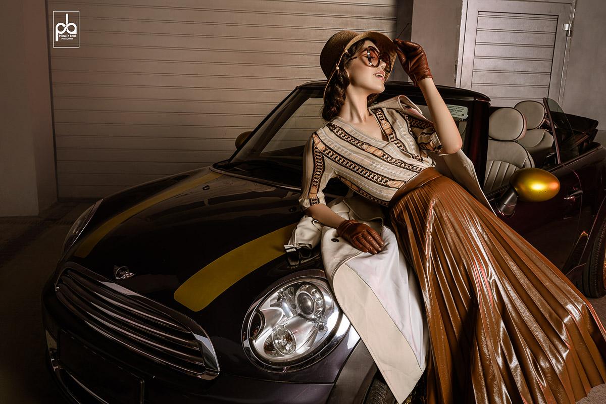 female model photo Droom calender