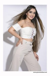 female model shoot