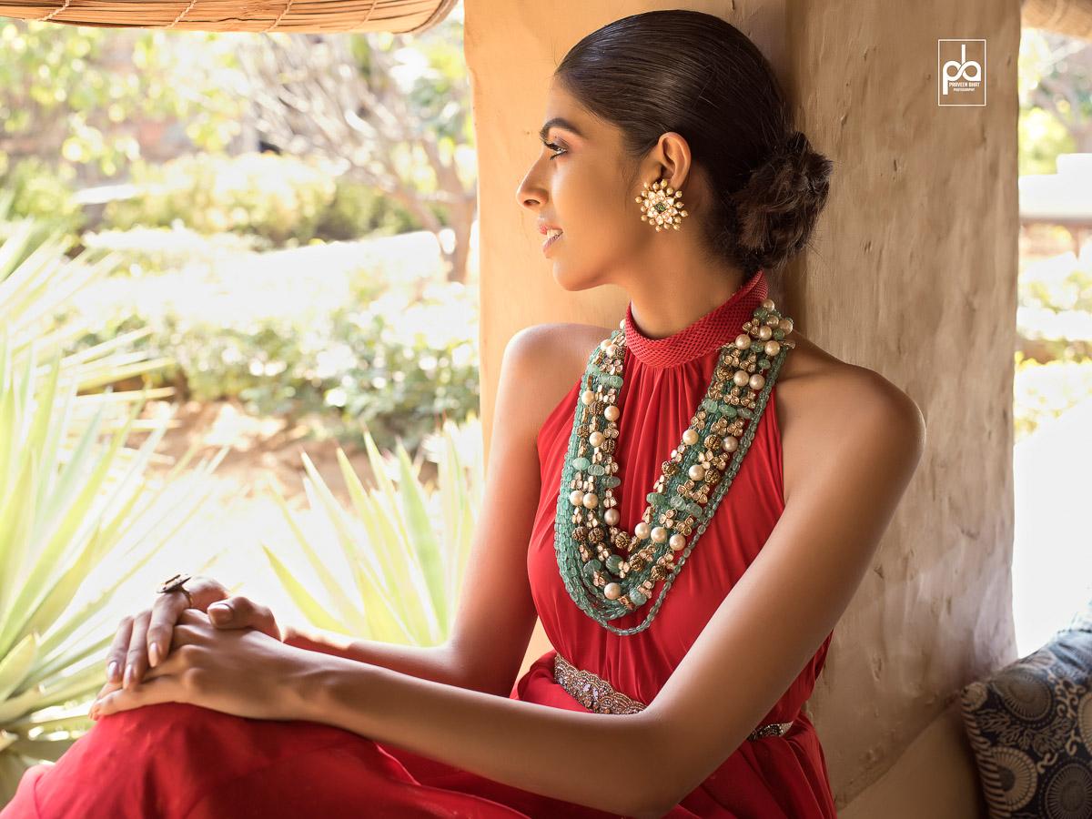 earrings jewellery photoshoot