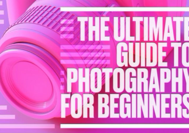 learn photography online for beginners