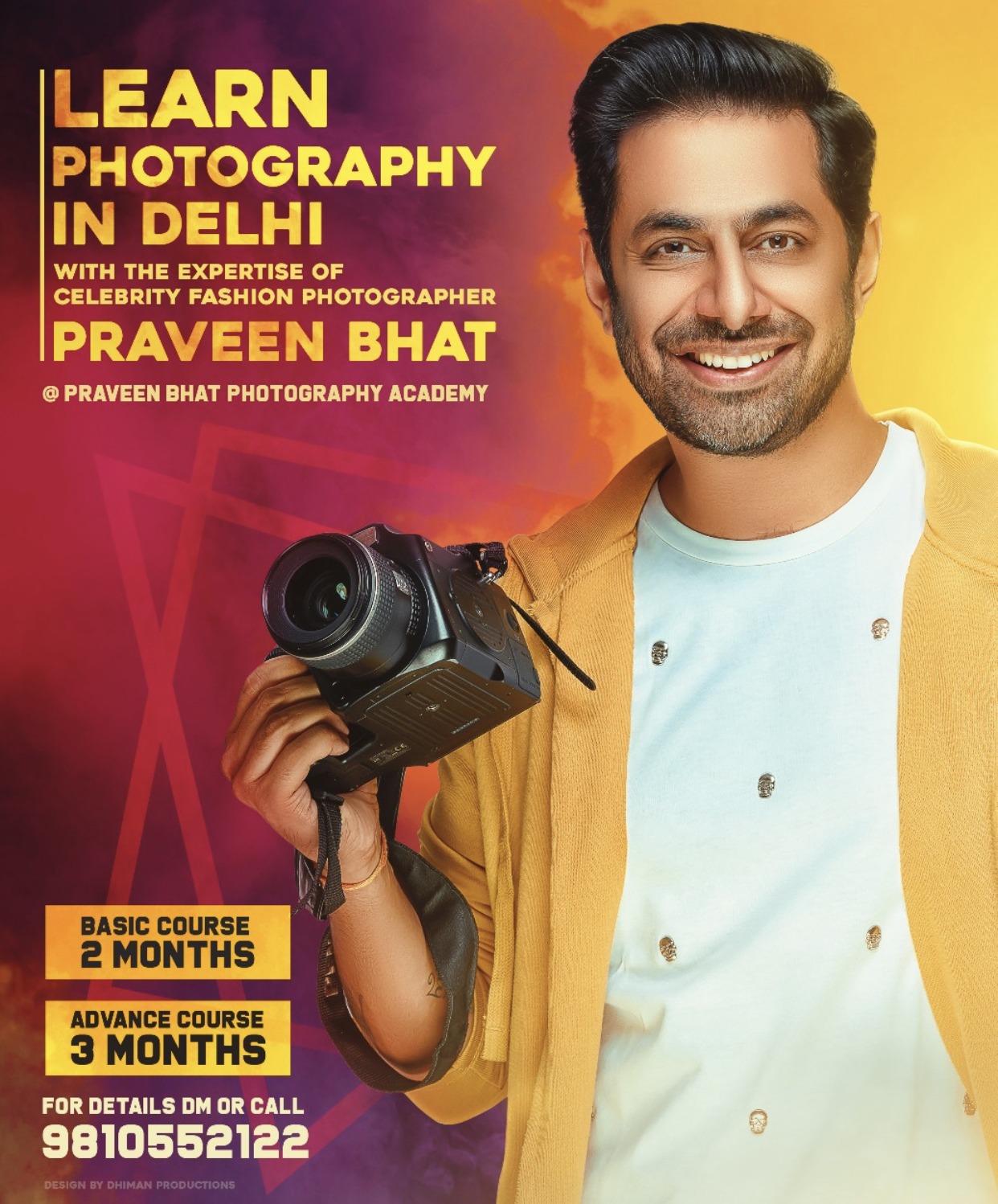 photography course in delhi ncr