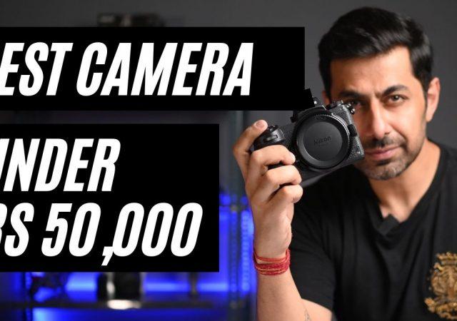 Best DSLR camera for outdoor photography under 50k