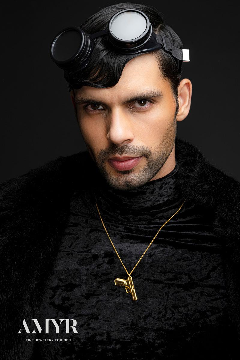 Male Modeling Jewellery Shoot