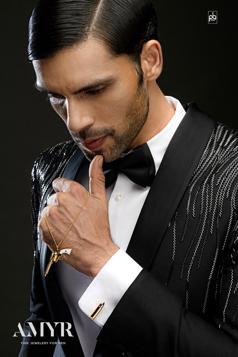 male modeling adshoot